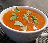 Schnelle Tomatensuppe (Bild)