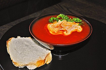 Schnelle Tomatensuppe 7