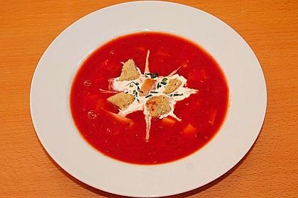 Schnelle Tomatensuppe 9