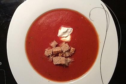 Schnelle Tomatensuppe 17
