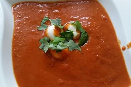 Schnelle Tomatensuppe 4