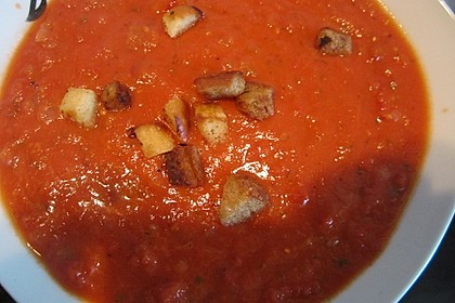 Schnelle Tomatensuppe 21