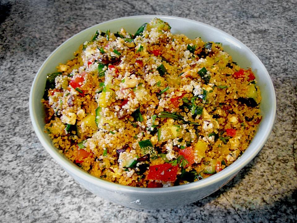 Couscous Salat à La Foe Von Sebbofoe Chefkoch