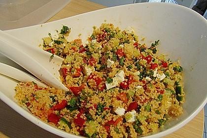 Couscous Salat à la Foe