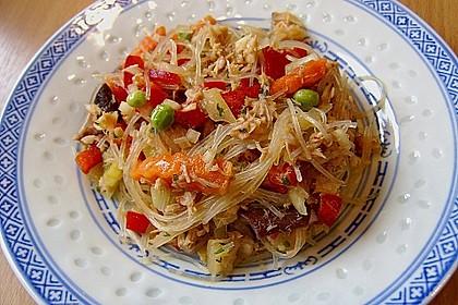 Thailändischer Glasnudelsalat mit Thunfisch 5