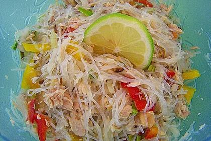 Thailändischer Glasnudelsalat mit Thunfisch 10