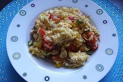 Vegetarische Reispfanne 14