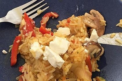 Vegetarische Reispfanne 20