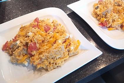 Vegetarische Reispfanne 7