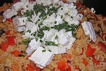 Vegetarische Reispfanne 29