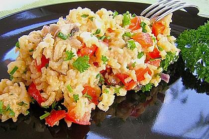 Vegetarische Reispfanne 2