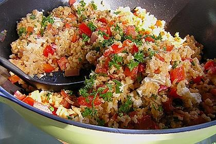 Vegetarische Reispfanne 1