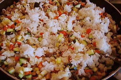 Vegetarische Reispfanne 36