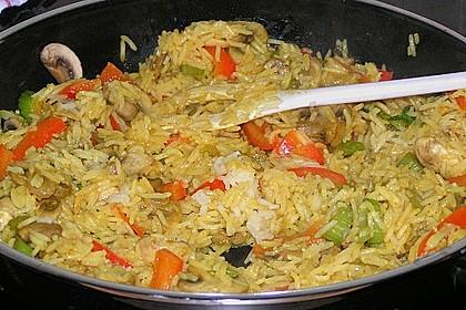 Vegetarische Reispfanne 15