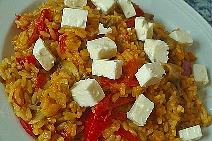 Vegetarische Reispfanne 13