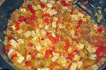 Vegetarische Reispfanne 30