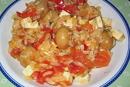 Vegetarische Reispfanne 25