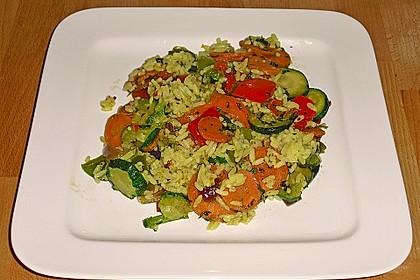 Vegetarische Reispfanne 12