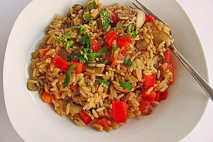 Vegetarische Reispfanne 9