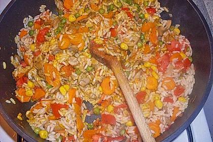 Vegetarische Reispfanne 16