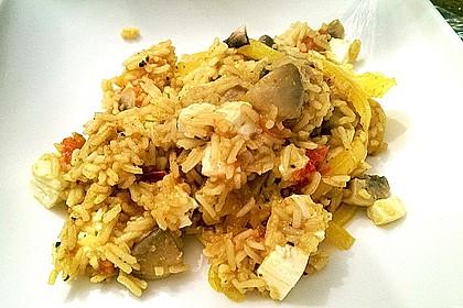 Vegetarische Reispfanne 27