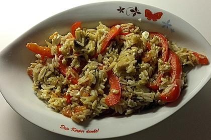Vegetarische Reispfanne 26