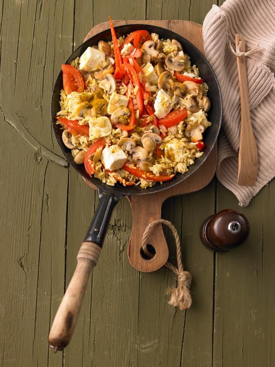Vegetarische Reispfanne Von Xapor Chefkoch