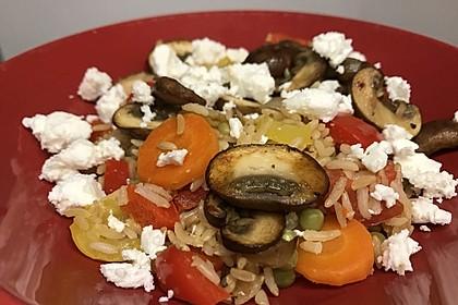 Vegetarische Reispfanne 32