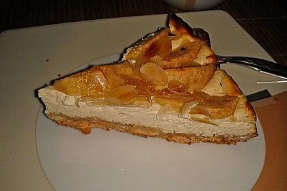 Apple Caramel Cheesecake 8