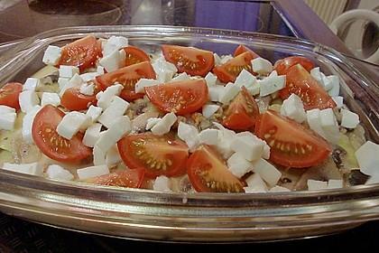 Cannelloni 'salmone e gamberetti' alla Anna (Bild)