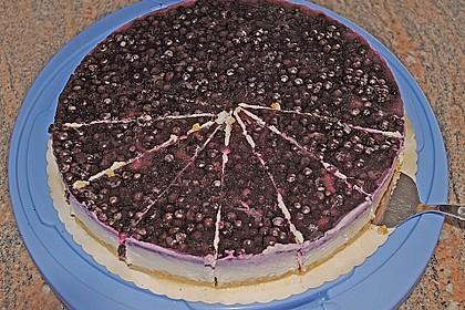Fruchtige Frischkäse - Torte 4
