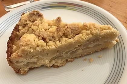 Apfel - Streuselkuchen mit Vanille - Schmand 11