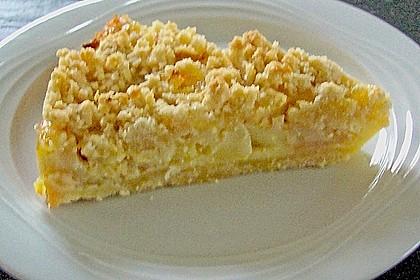 Apfel - Streuselkuchen mit Vanille - Schmand 6