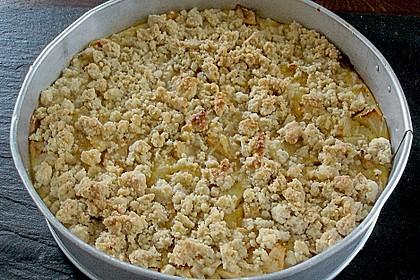 Apfel - Streuselkuchen mit Vanille - Schmand 7