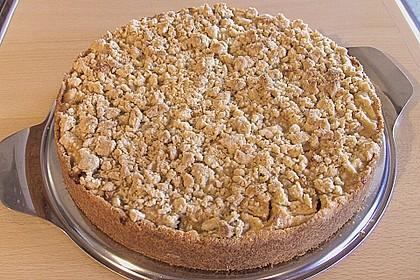 Apfel - Streuselkuchen mit Vanille - Schmand 15