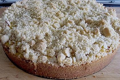 Apfel - Streuselkuchen mit Vanille - Schmand 10