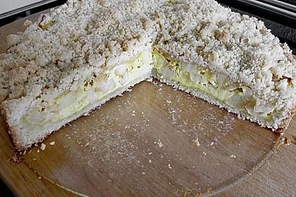 Apfel - Streuselkuchen mit Vanille - Schmand 5