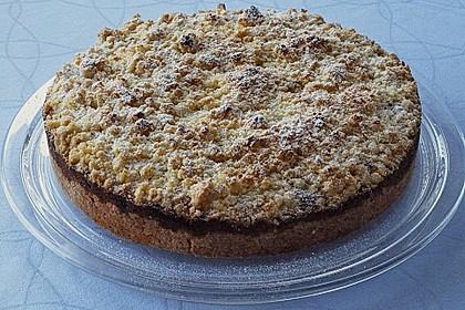 Apfel - Streuselkuchen mit Vanille - Schmand 3