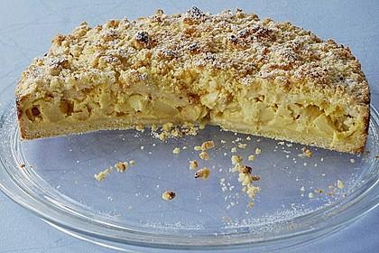 Apfel - Streuselkuchen mit Vanille - Schmand 13