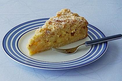 Apfel - Streuselkuchen mit Vanille - Schmand 2