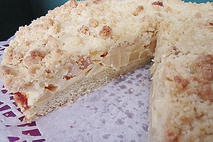Apfel - Streuselkuchen mit Vanille - Schmand 9