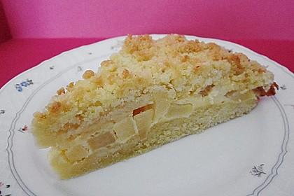 Apfel - Streuselkuchen mit Vanille - Schmand 4