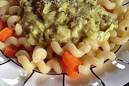Curry - Sahne - Nudeln mit Gehacktem 16