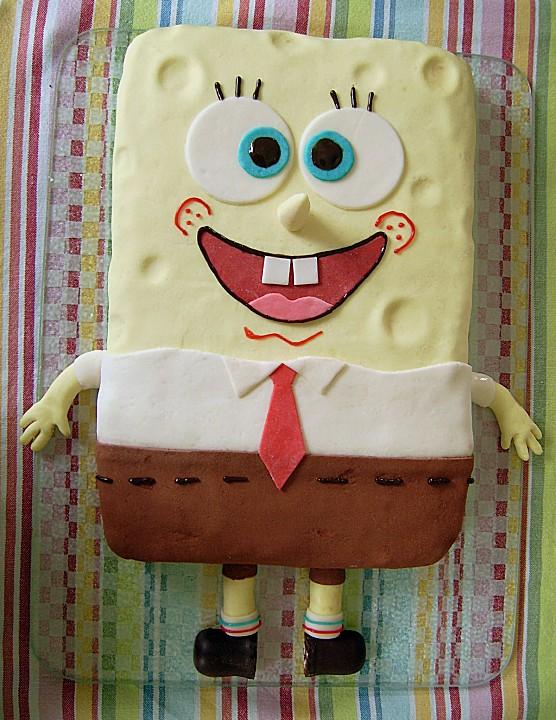 Spongebob Torte Von Kandisflocke Chefkoch De