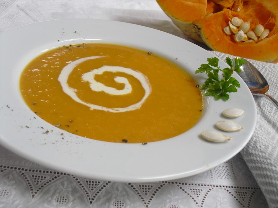 Kürbissuppe für Kinder von Tiffy-78 | Chefkoch