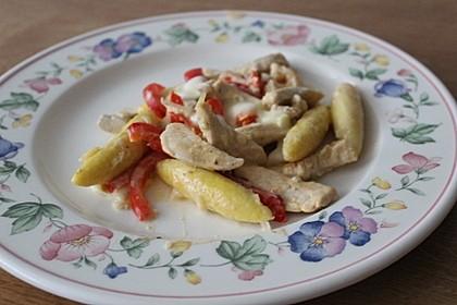 Schupfnudelpfanne mit Gemüse und Mozzarella 30