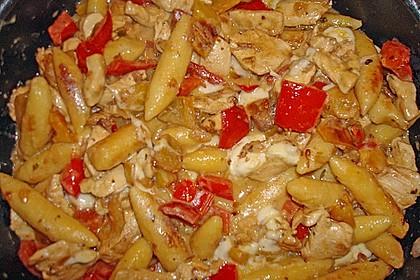 Schupfnudelpfanne mit Gemüse und Mozzarella 60