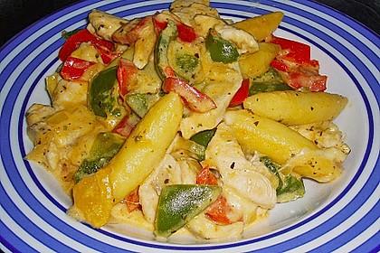 Schupfnudelpfanne mit Gemüse und Mozzarella 18