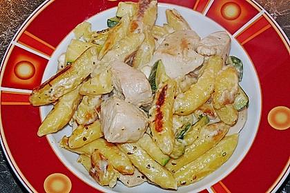 Schupfnudelpfanne mit Gemüse und Mozzarella 43