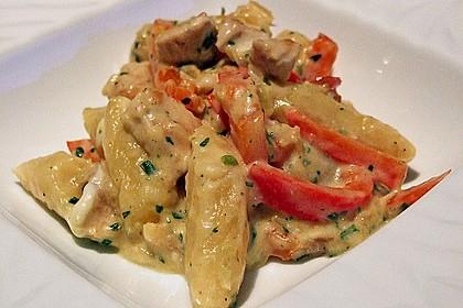 Schupfnudelpfanne mit Gemüse und Mozzarella 44